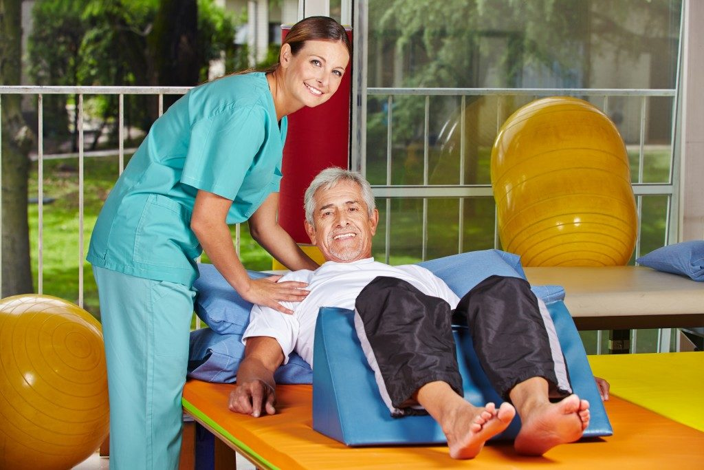 Physiotherapy in the nursing home