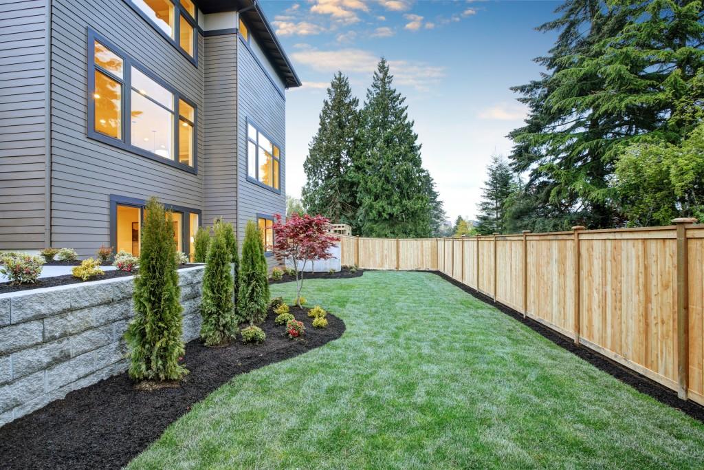 Well-Kept Yard and Garden