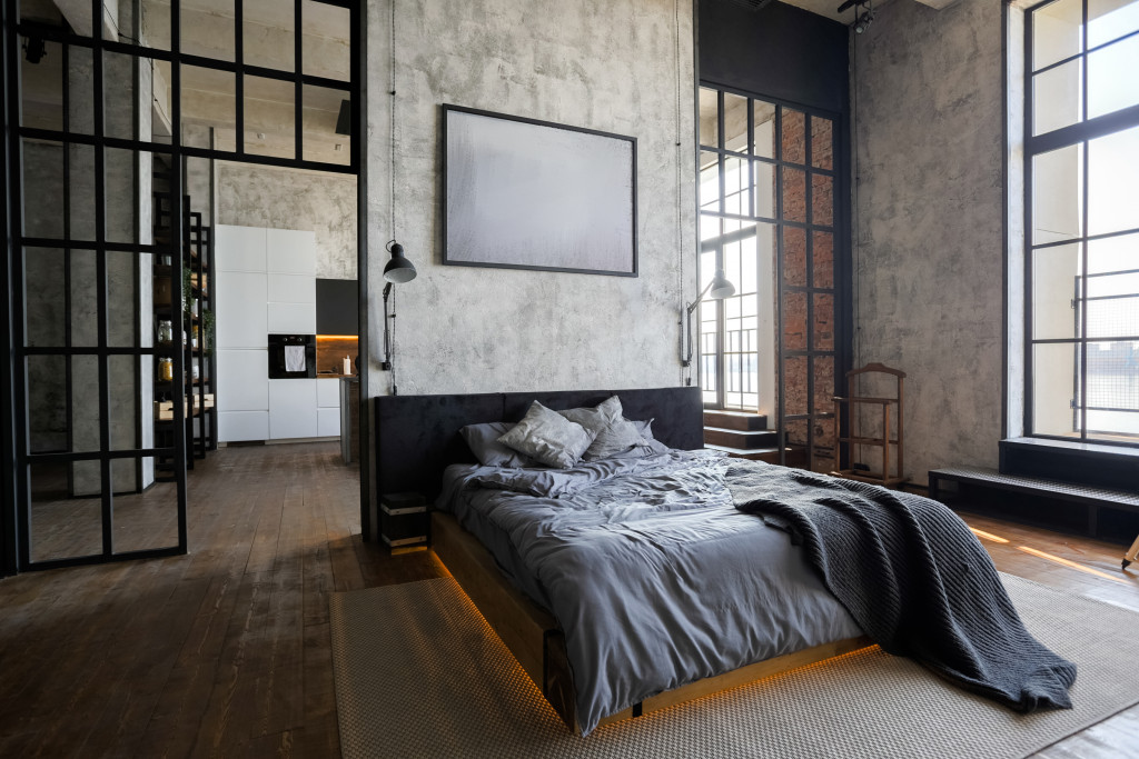modern and industrial design interior